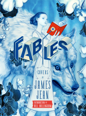 James Jean XOXO Postcard & FABLES COVERS Signing