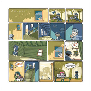 Copper #18 - Summer House - April 2004, Kazu Kibuishi