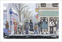 Waiting for the Bus, Amy Kim Kibuishi