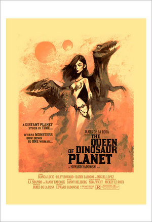 The Queen Of Dinosaur Planet 1, Kevin Dart