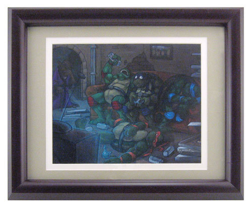 Twenty-Something Mutant Ninja Turtles, Vincent Odien