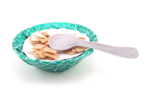 Cereal Bowl w/ Spoon, T&A Friendly