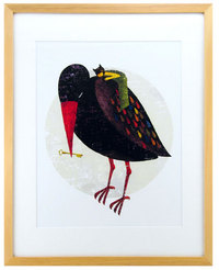 Red Billed Bird, Yoko Tanji