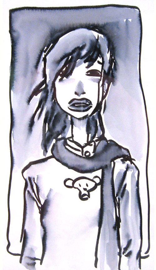 Monkey Shirt Girl, Enrico Casarosa