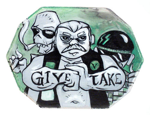 Give & Take, Albert Carranza