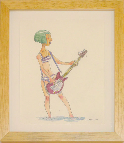 Guitar Girl One, Enrico Casarosa