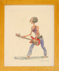 Guitar Girl Two, Enrico Casarosa