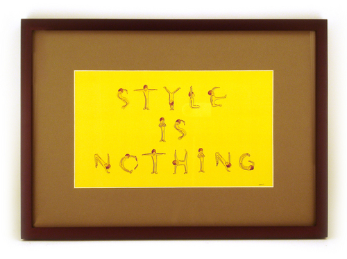 Style Is Nothing, Daniel Chong