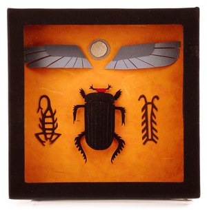 Egyptian Scarab (Dung Beetle), Megan Brain