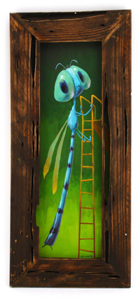 Damselfly in Distress, Alex Kirwan