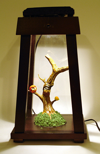 Gilded Tree with Bird Friends, Elizabeth Ito