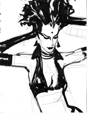 Untitled Sketch #10, John Watkiss