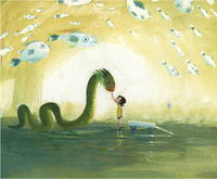 The Sea Serpent and Me (pg 33), Catia Chien