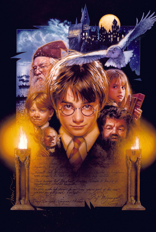 Harry Potter and the Sorcerer's Stone, Drew Struzan