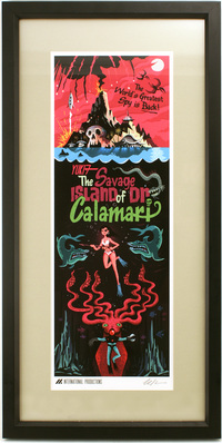 The Savage Island of Dr. Calamari, Justin Parpan