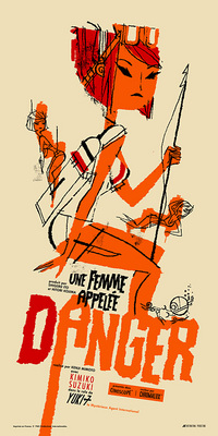 Danger is a Female (French), Kevin Dart