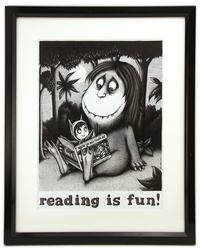 Reading Is Fun!, Sebastien Mesnard