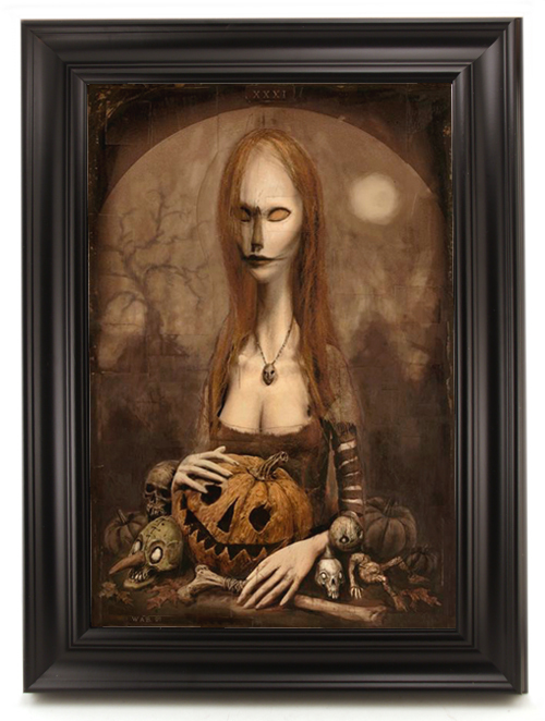 The Halloween Lady, William Basso