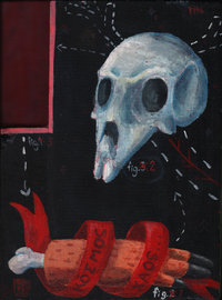 Skull, Meat, Arm. Order and Void, Alessandro Echevarria