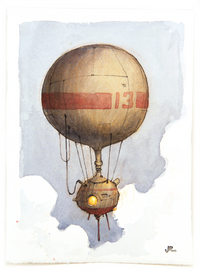 Balloon 13, Jake Parker