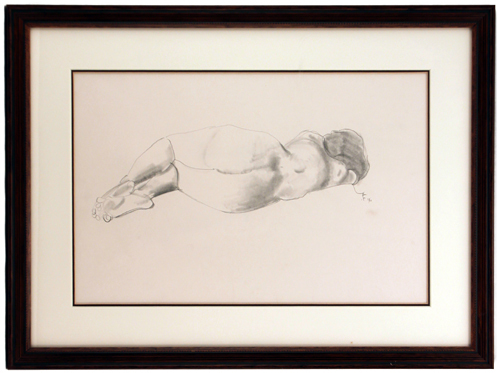 Life Drawing- Nude Woman, Robert Fawcett