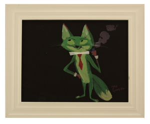 Mr. Fox takes a puff, michael Gabriel