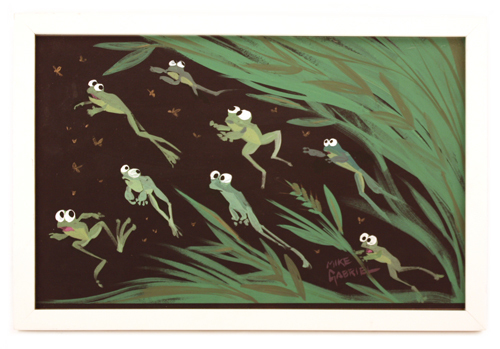 Frogs in Tall Grass, michael Gabriel