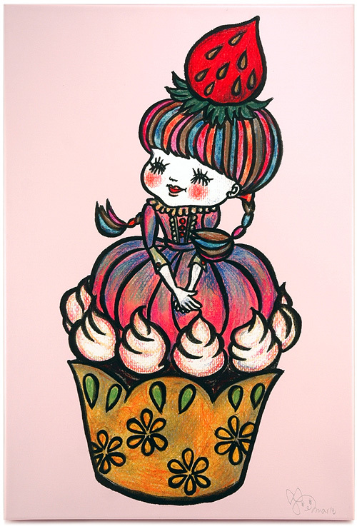 Cup-Cake-Chang (Sweets Land Series), Marie