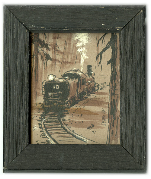 Logging Train #10, Jeremy Spears