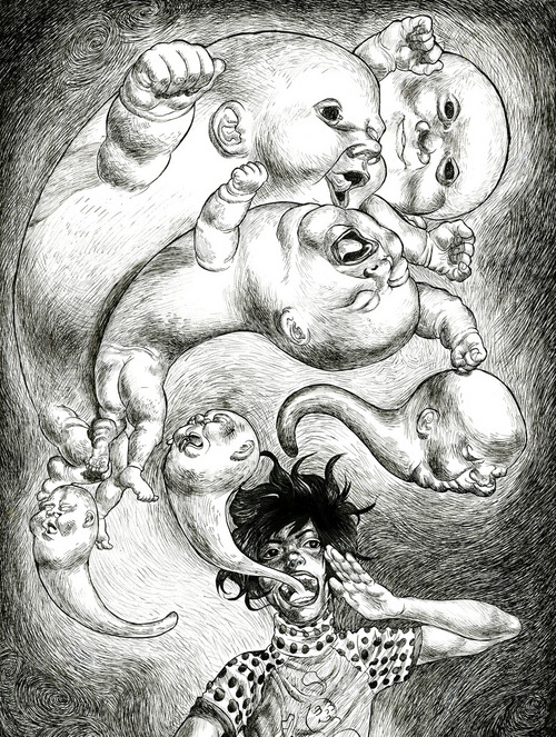 Babies ghosts want!, K. Castaneda