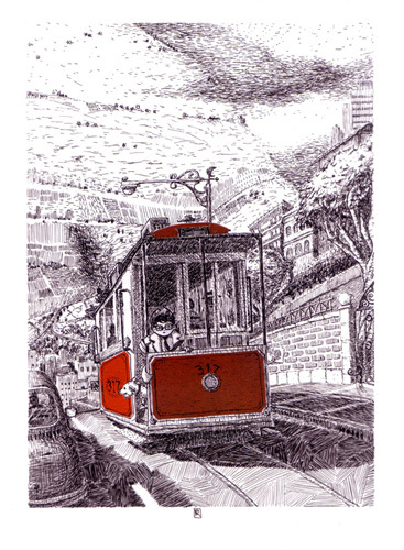 Trolley Ride, Rodolfo  Montalvo