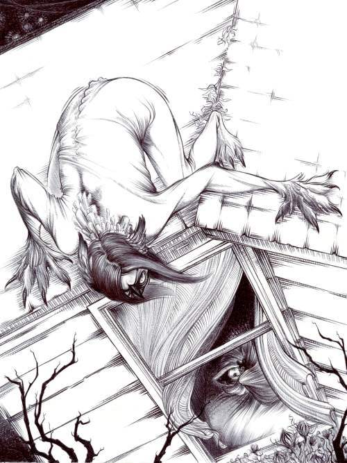 Skinwalker on the Roof, K. Swartz