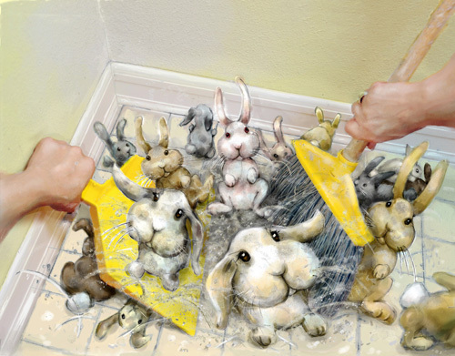 Dust Bunnies, Laura Hoffman