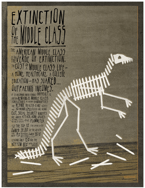 Extinction of the Middle Class, Michael Glenwood Gibbs
