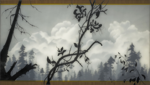 Thorned and Honey Suckle, Brooks Salzwedel