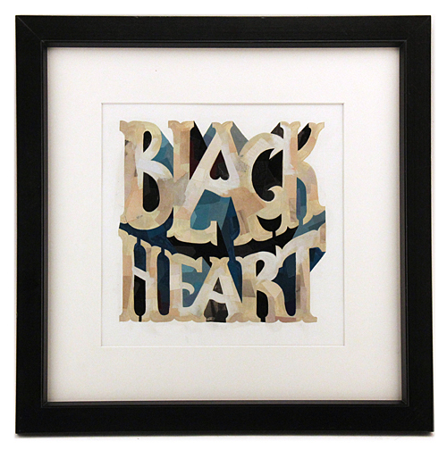 Black Heart, Darren  Booth