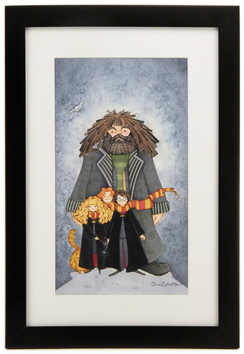 Hagrid and the Kids, Cheri Scholten