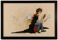 Harry Potter and Hedwig, Amy Kim Kibuishi