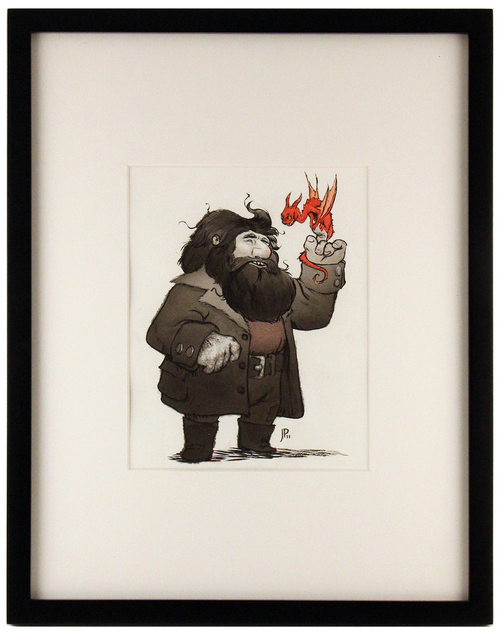 Hagrid and Norbert, Jake Parker