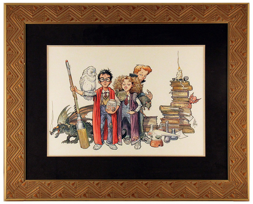 Harry Potter and Friends, William Stout