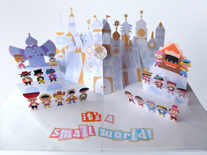 It's a Small World Pop-Up, Jackie Huang