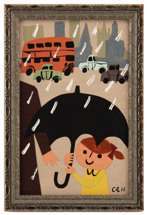 London Rain, Christian Robinson