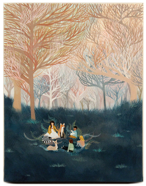 Beneath the Trees, Linda Kim