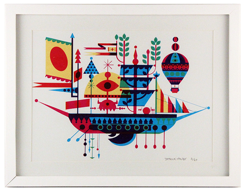 Untitled (Ship), Patrick Hruby
