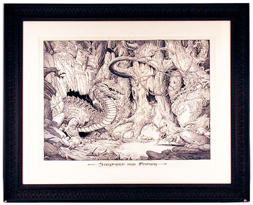 Siegfried and Fafnir, William Stout