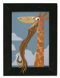 What if. . .  a Giraffe with Beard, Benjamin Butcher