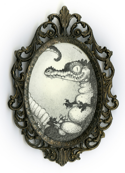 What if you could see into a crocodile egg?, Marceline Danousha
