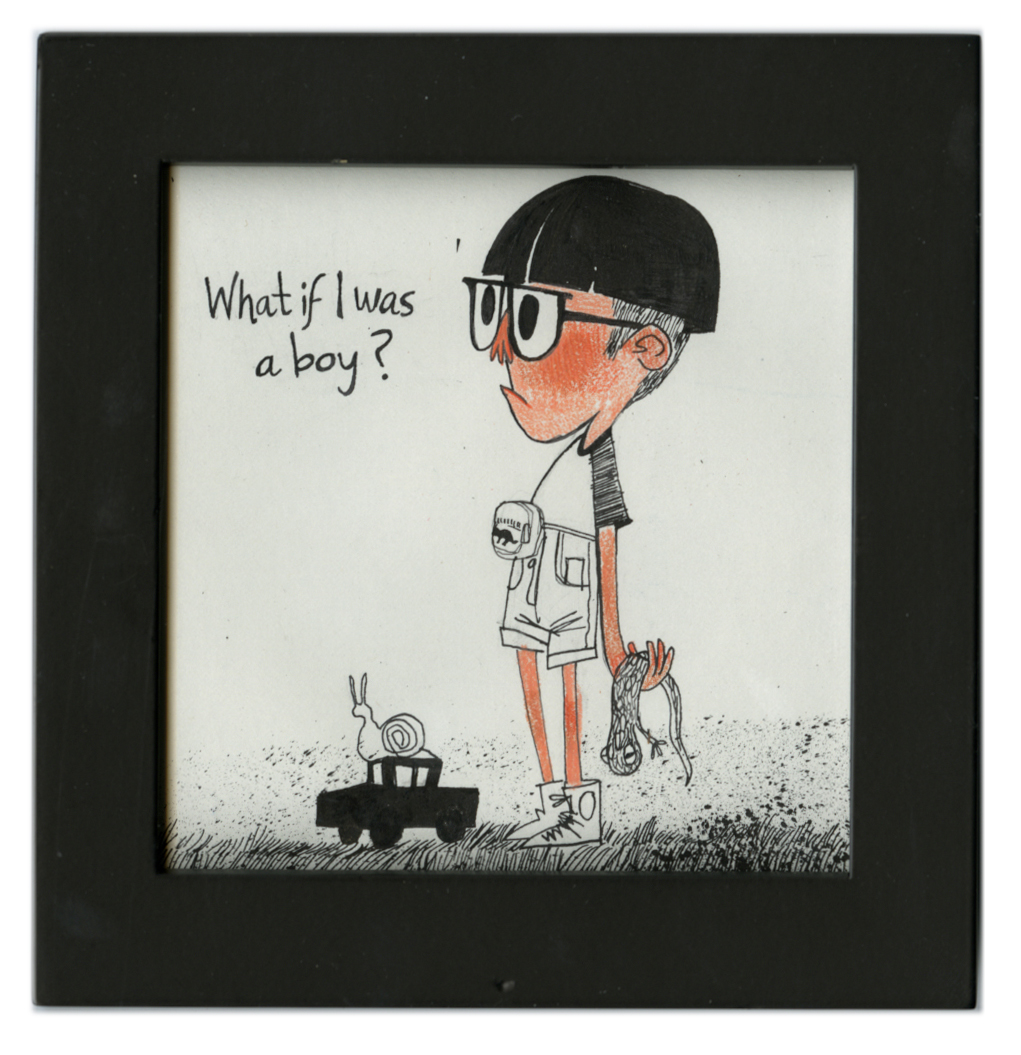 What if, I was a boy?, lindsey olivares