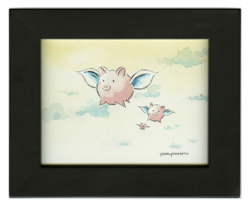 What if pigs could fly...naturally?, Jeremy Costello