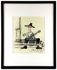 Jed Clampett of Beverly Hillbillies, Ronald Searle